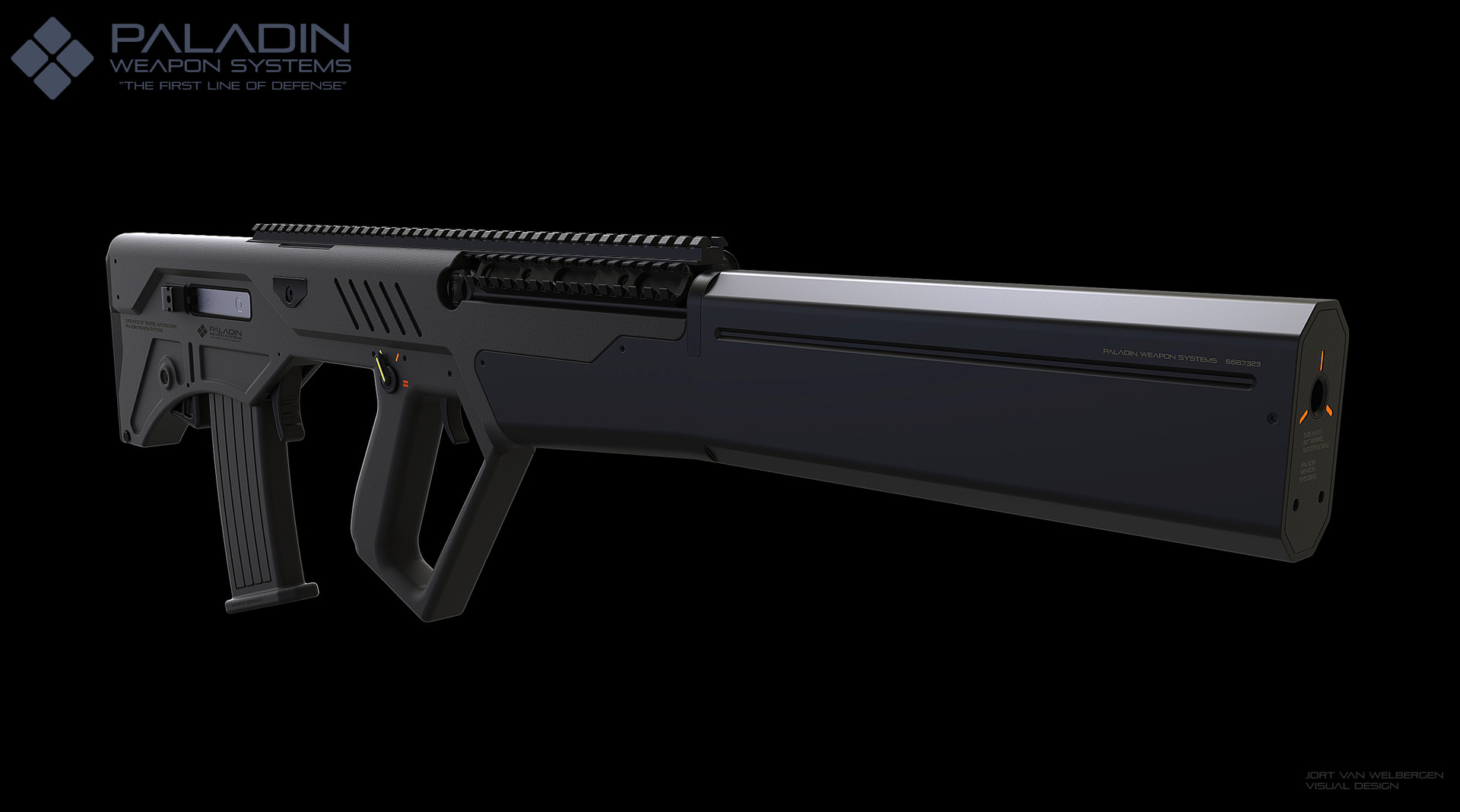 Jort van welbergen pws raptor assault rifle