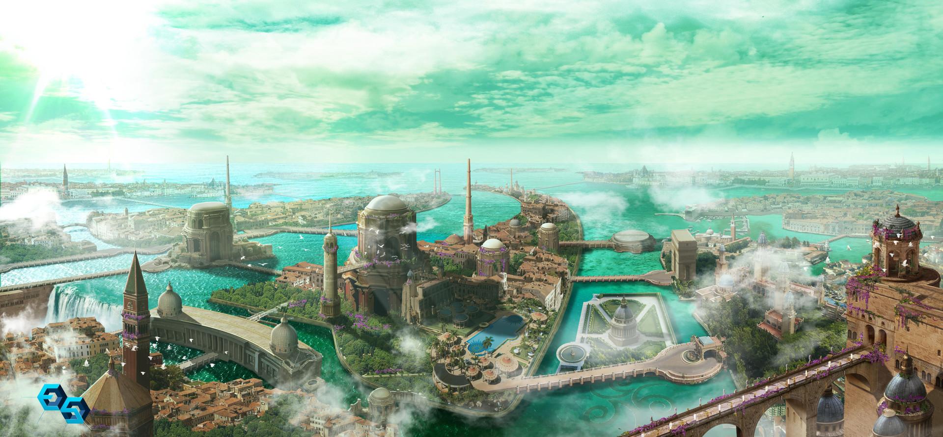 Pablo palomeque city concept