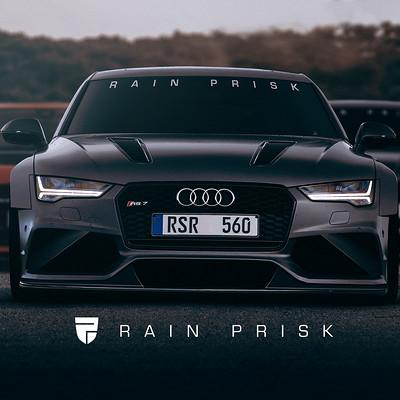 Rain prisk audi rs7 oaksu