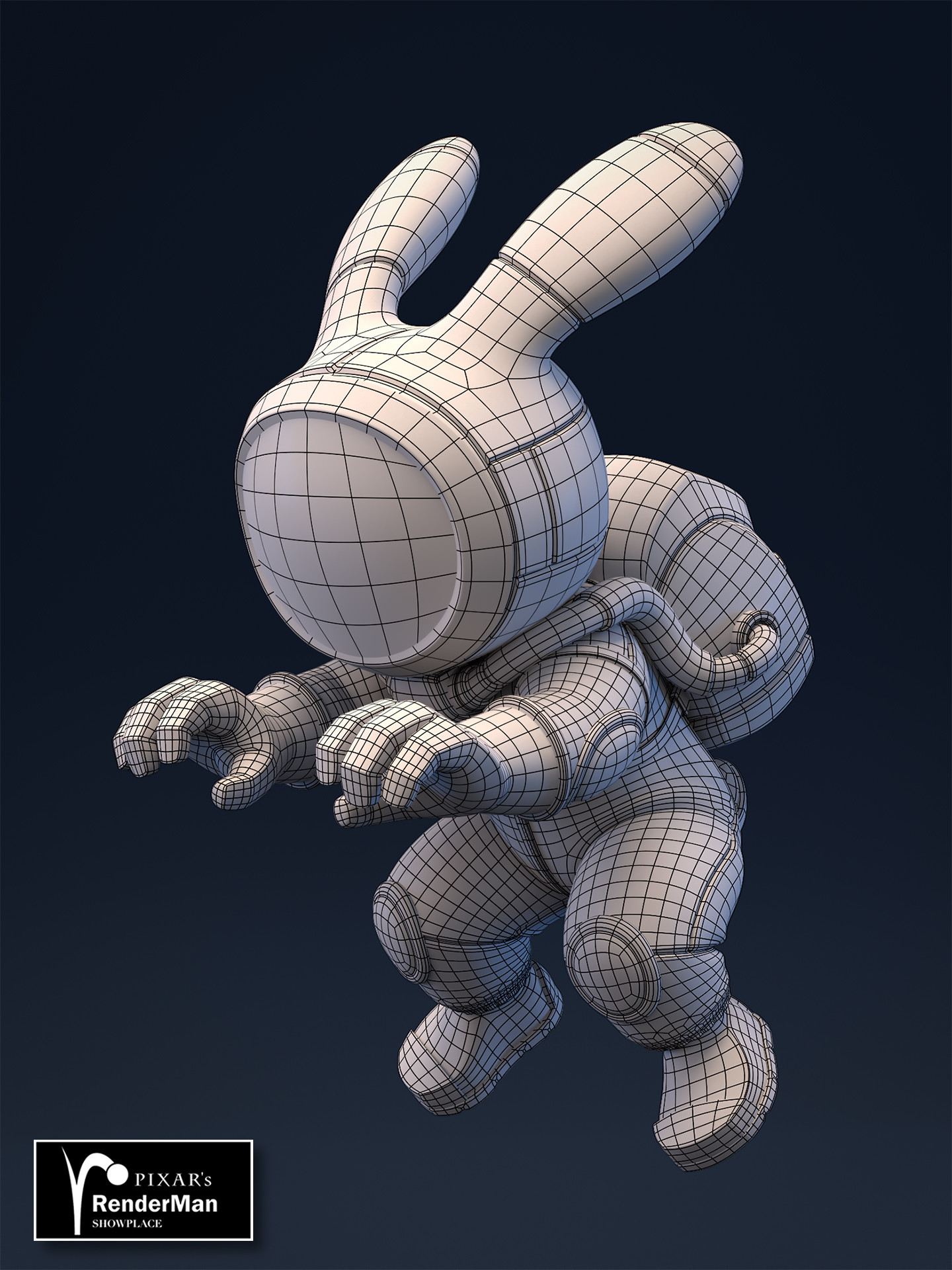 Brice laville saint martin rocket rabbit retopo wire awards 01