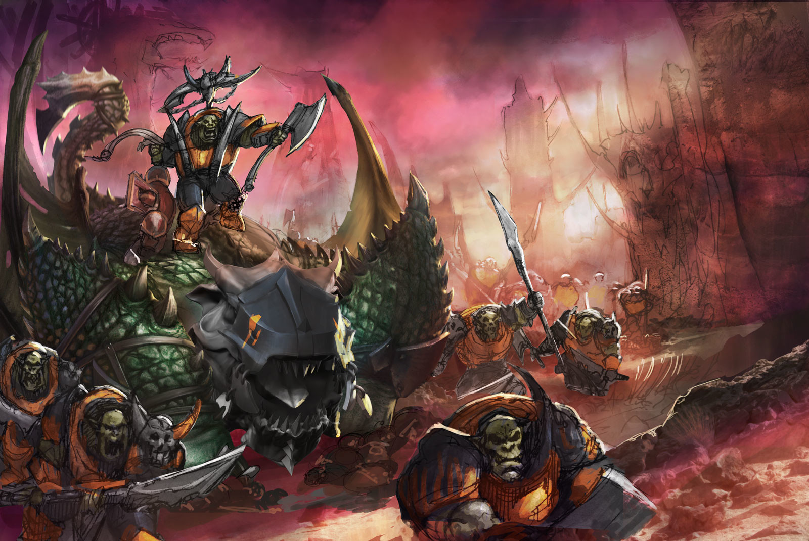 Rafael teruel realm of beasts outro 02 color rafater warhammer