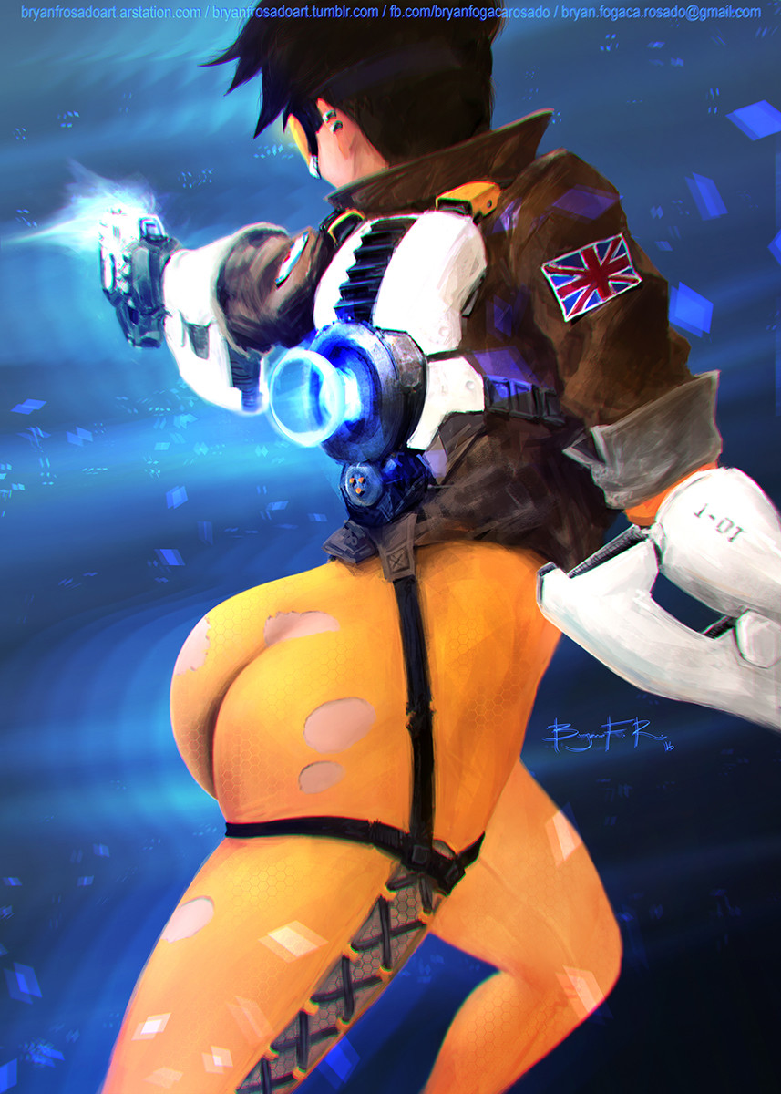 Sexy Tracer Gifs 6
