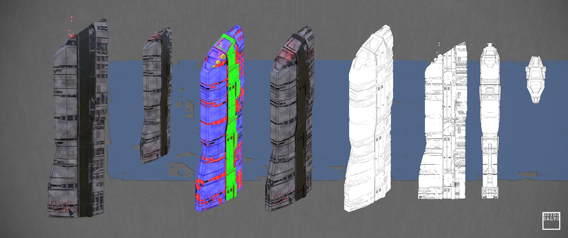 High Density Building