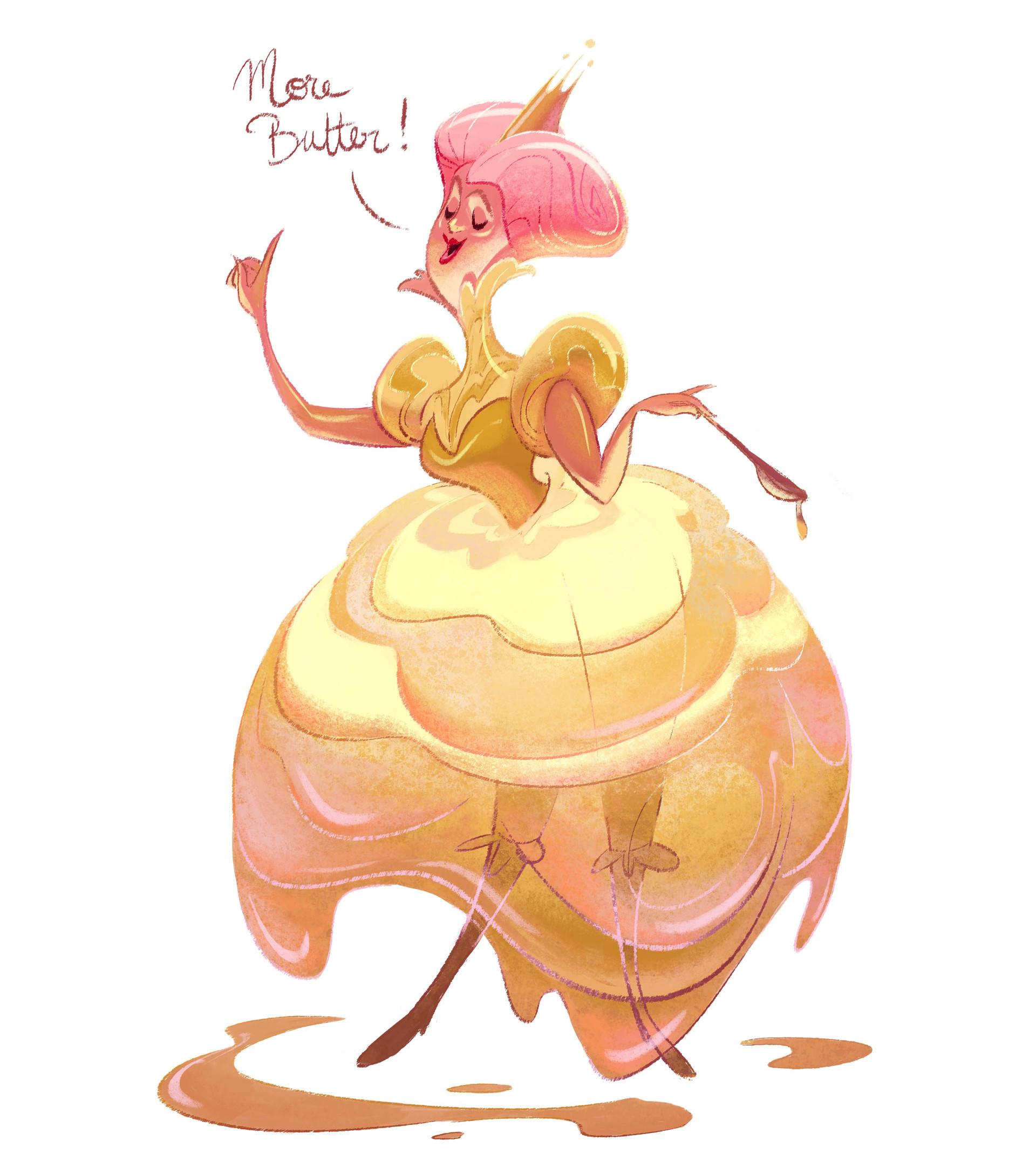 Cecile carre butterqueen1