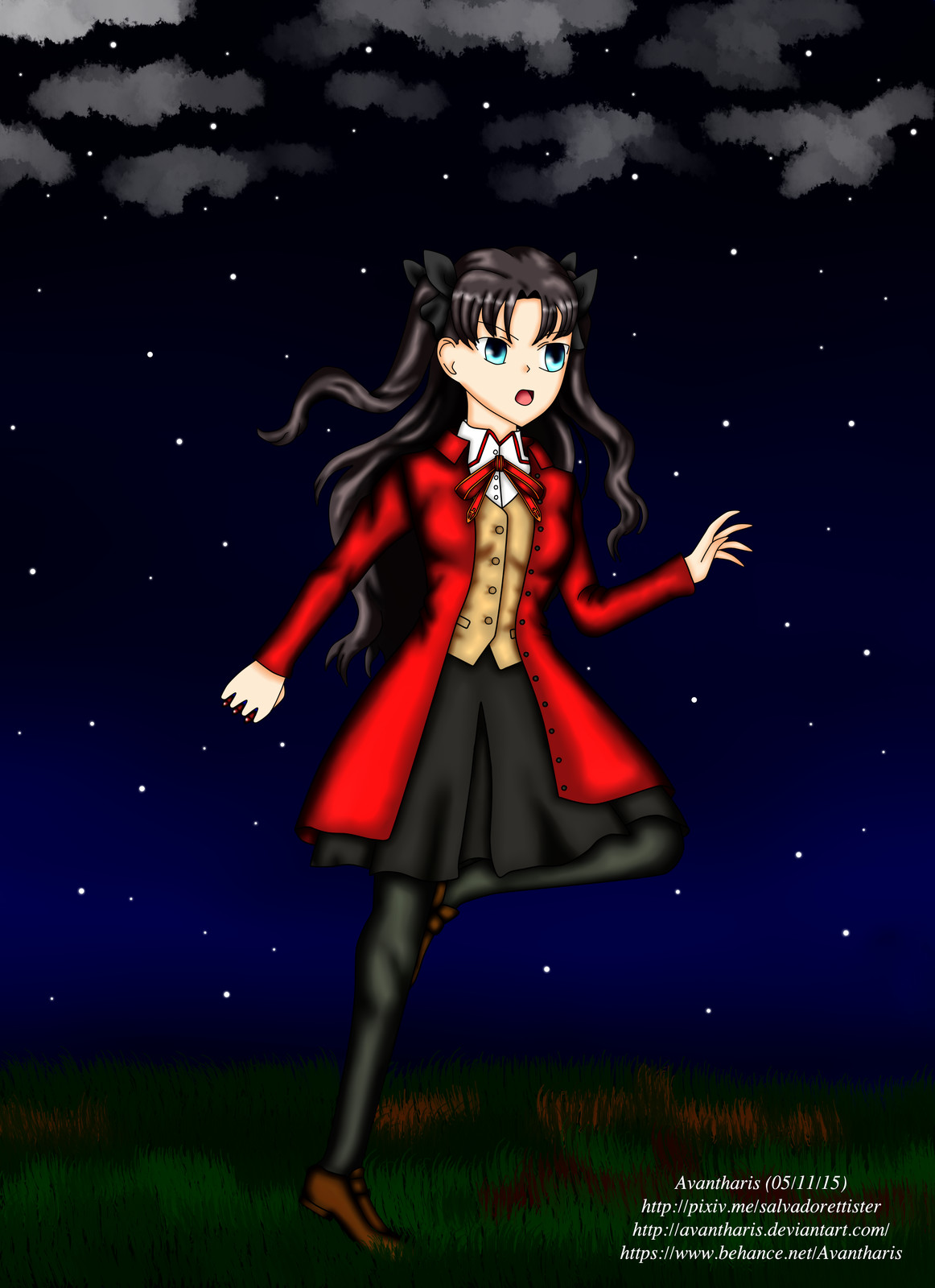 Rin Tousaka from Fate/Stay Night
