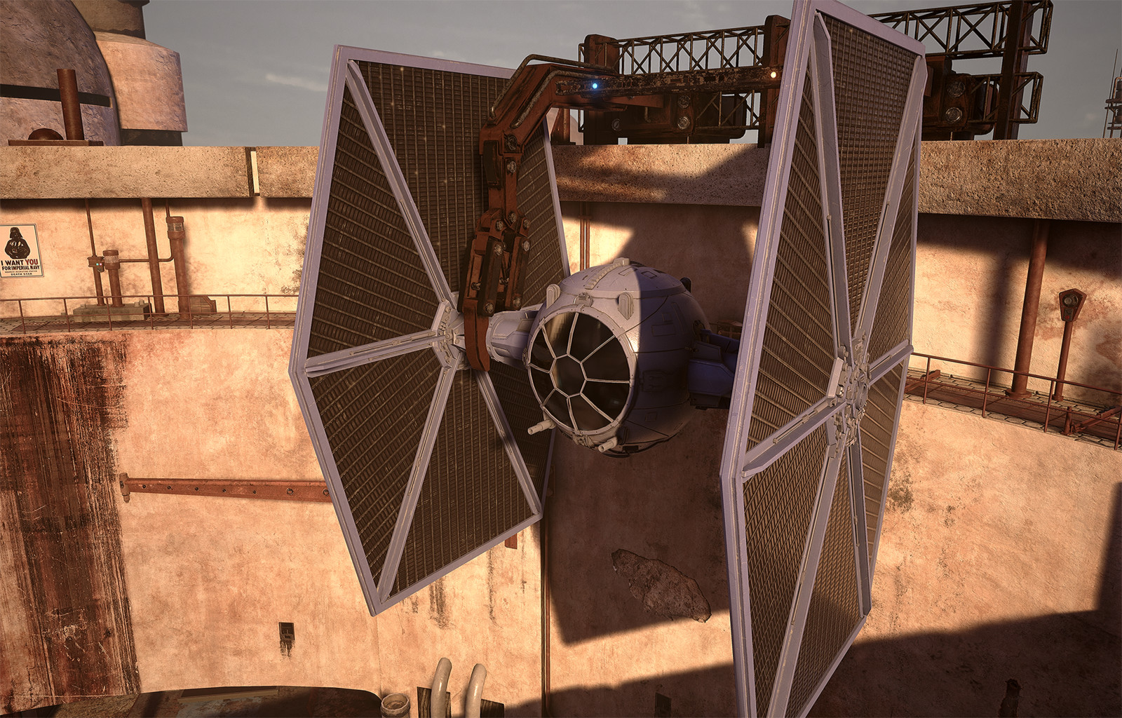 Star Wars Docking Bay 91 Tie Fighter