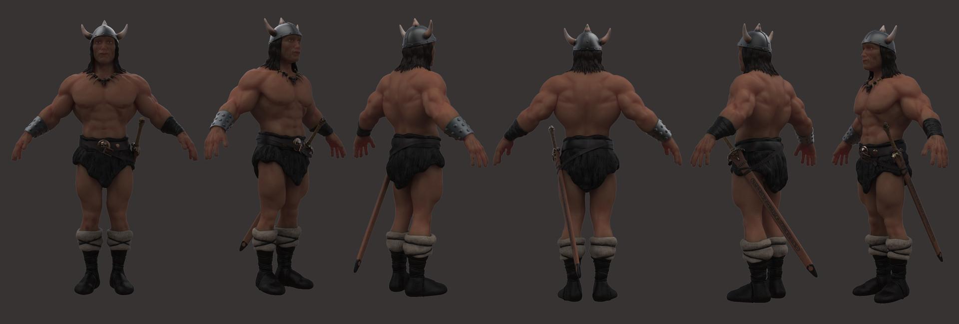 Diego Lujan Conan The Barbarian