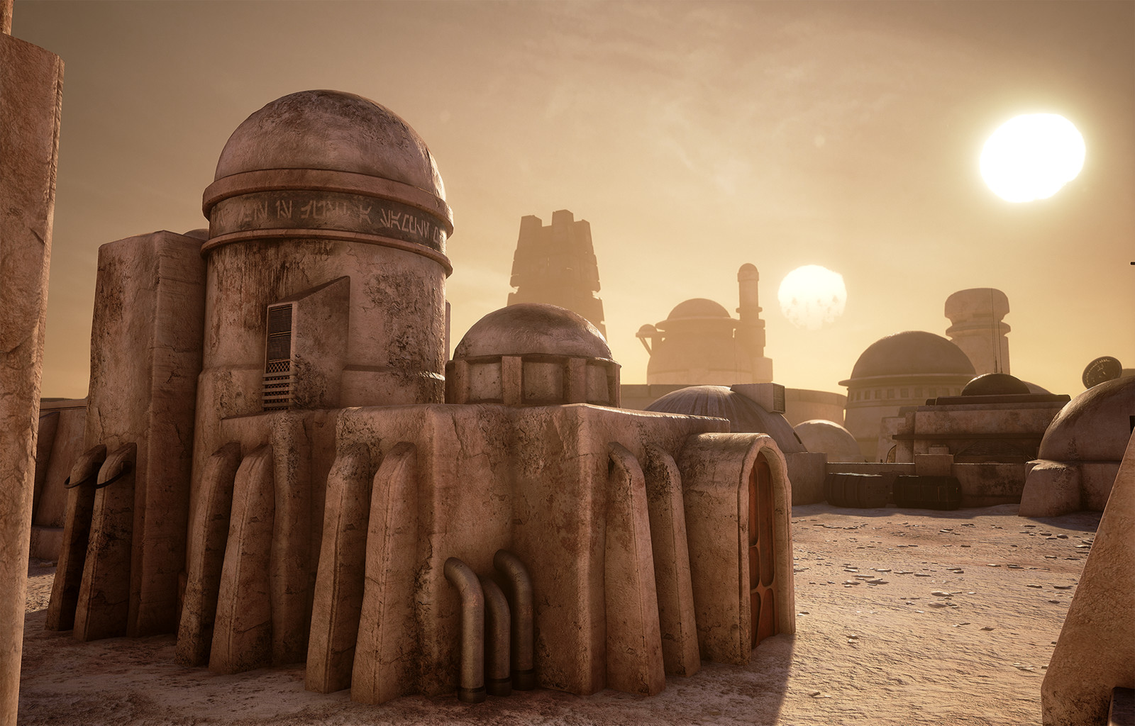Star Wars Tatooine Mos Eisley