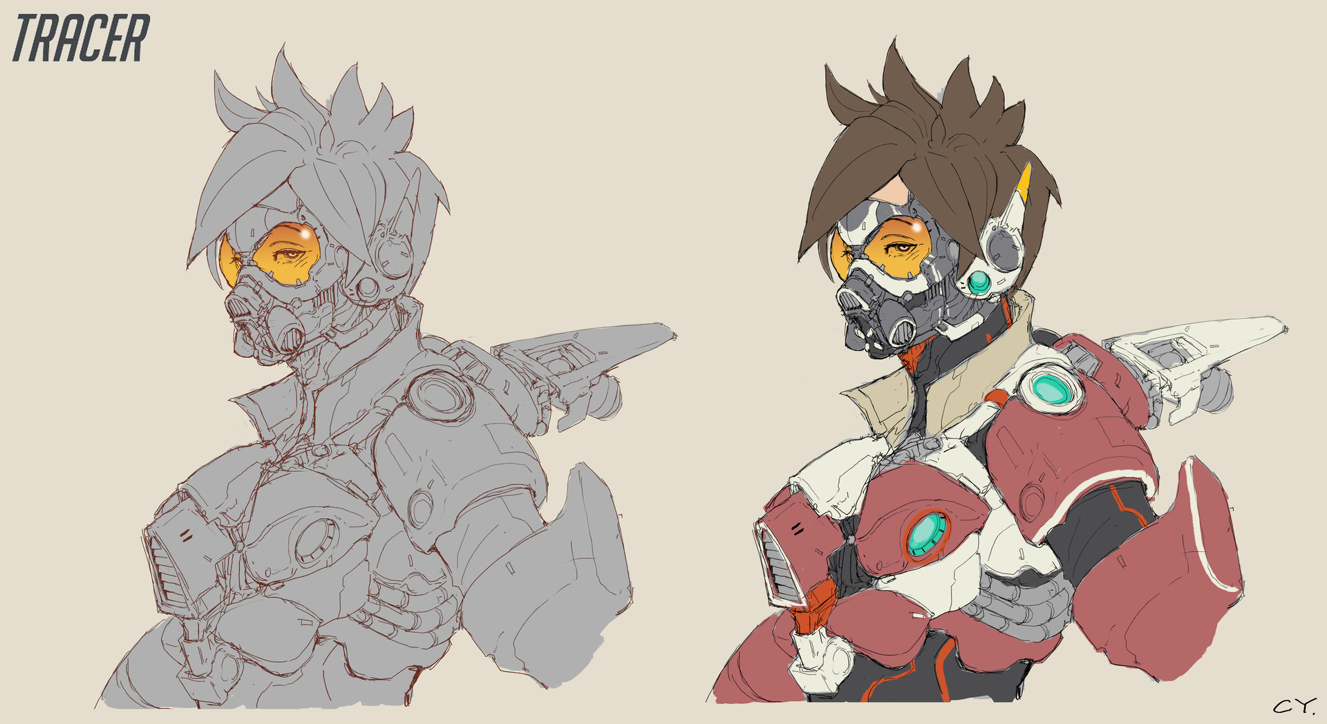 Ching yeh tracer