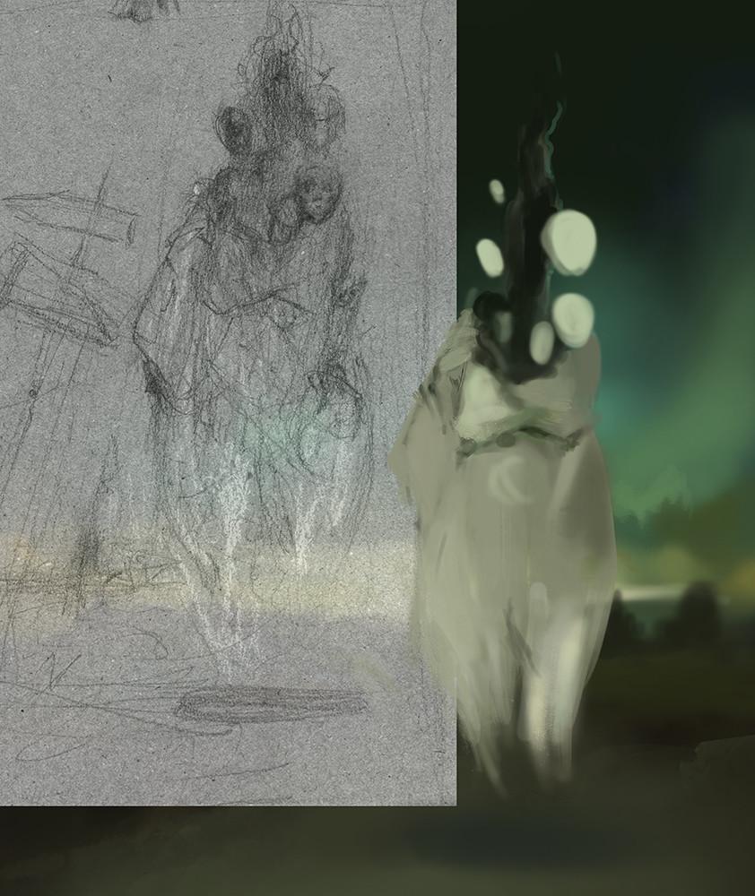 Yeve drovossekova ghost process