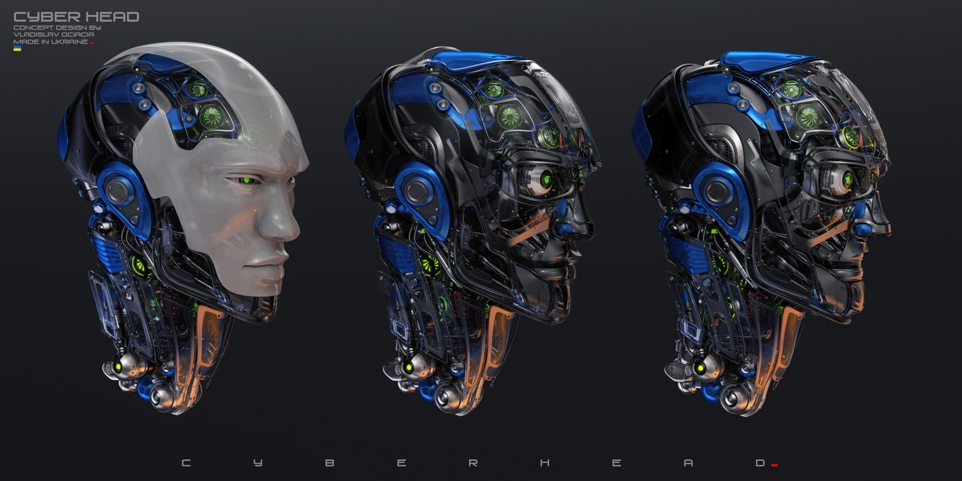 Vladislav ociacia robotic head 1