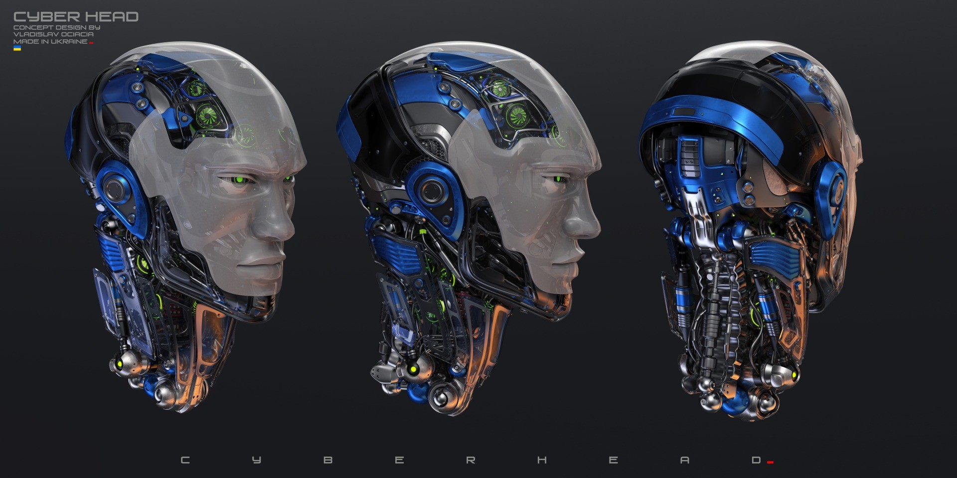 Vladislav ociacia robotic head 3