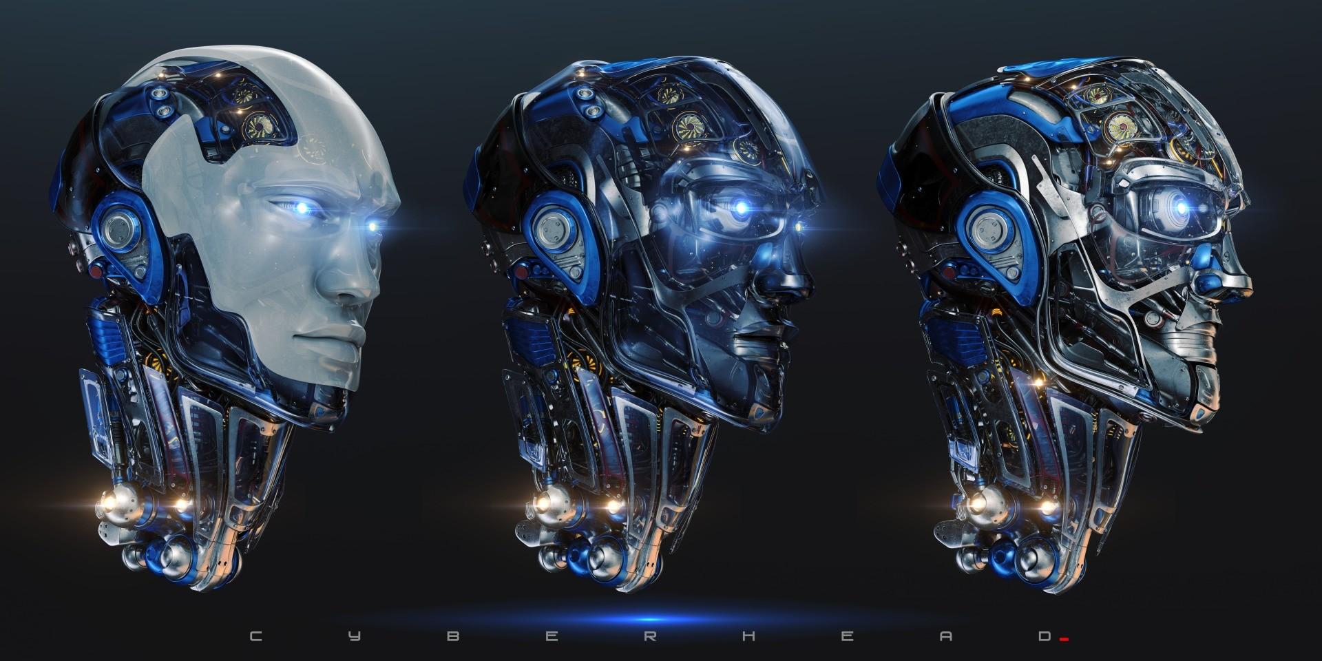 Vladislav ociacia robotic head 5