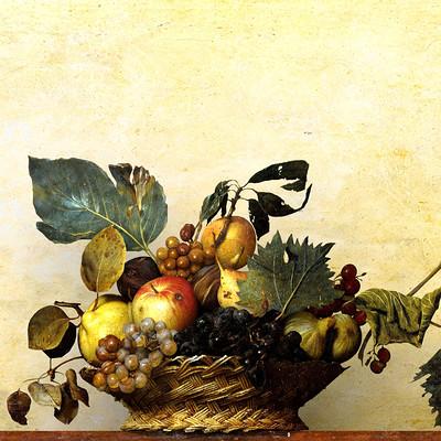 Pietro chiovaro canestra di frutta 1 a