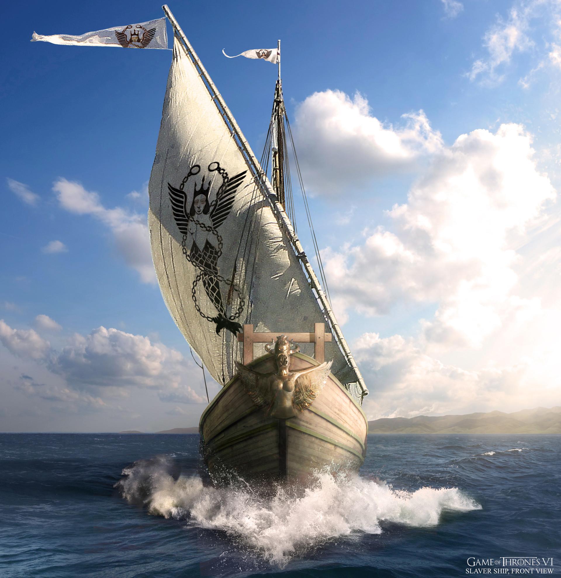 Kieran belshaw slavers ship catapult front v004