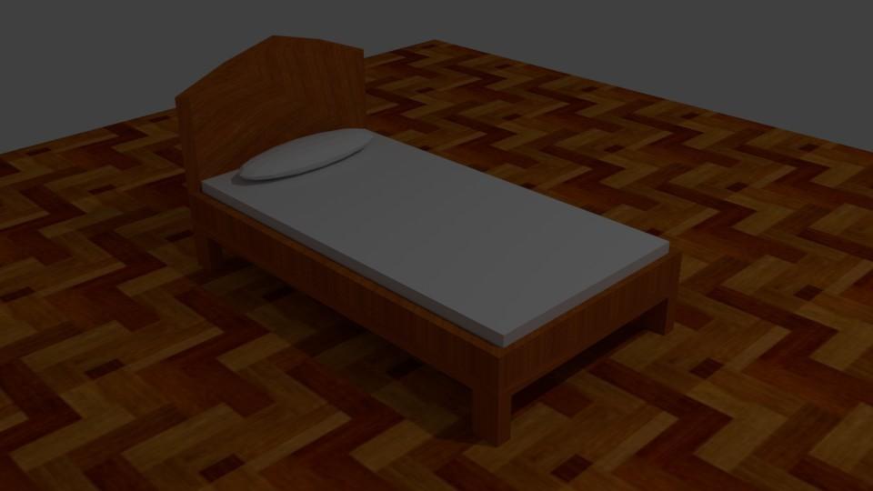 Bed (Blender)