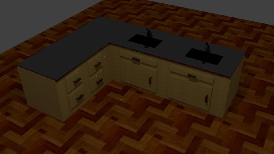 Kitchen sink (Blender) 2