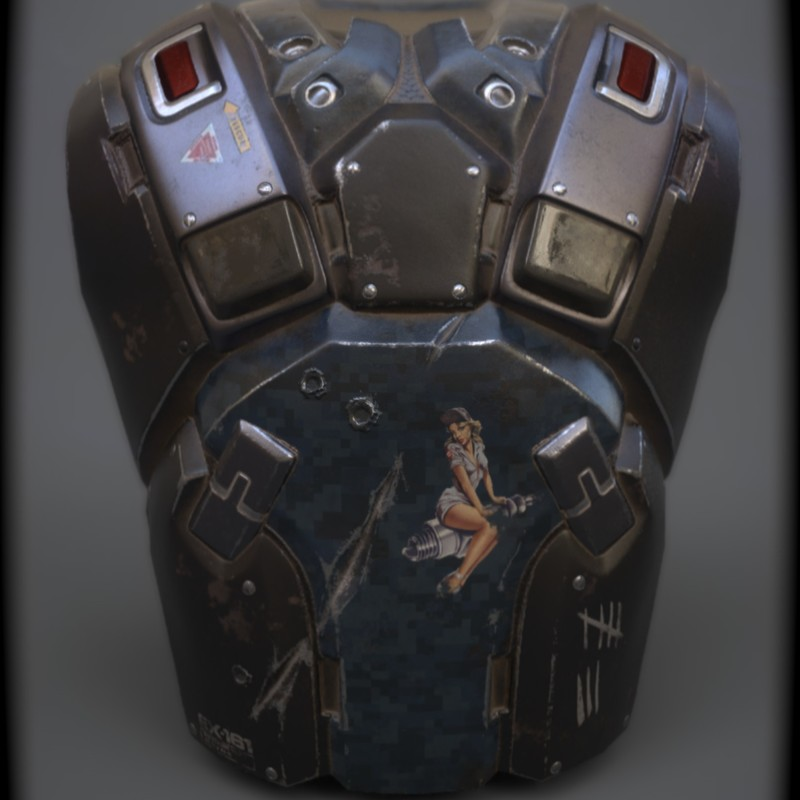 Future Soldier Chestplate