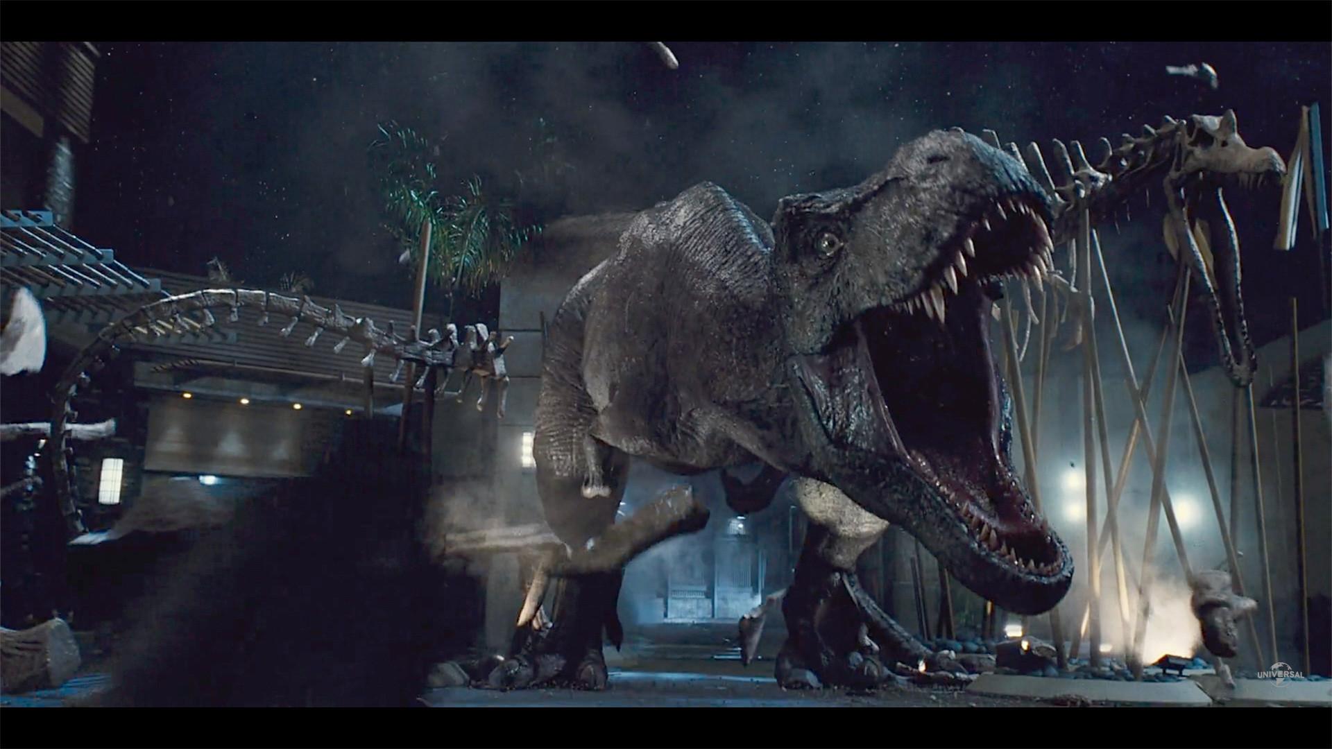 Artstation Jurassic World Trex Erik Halsey