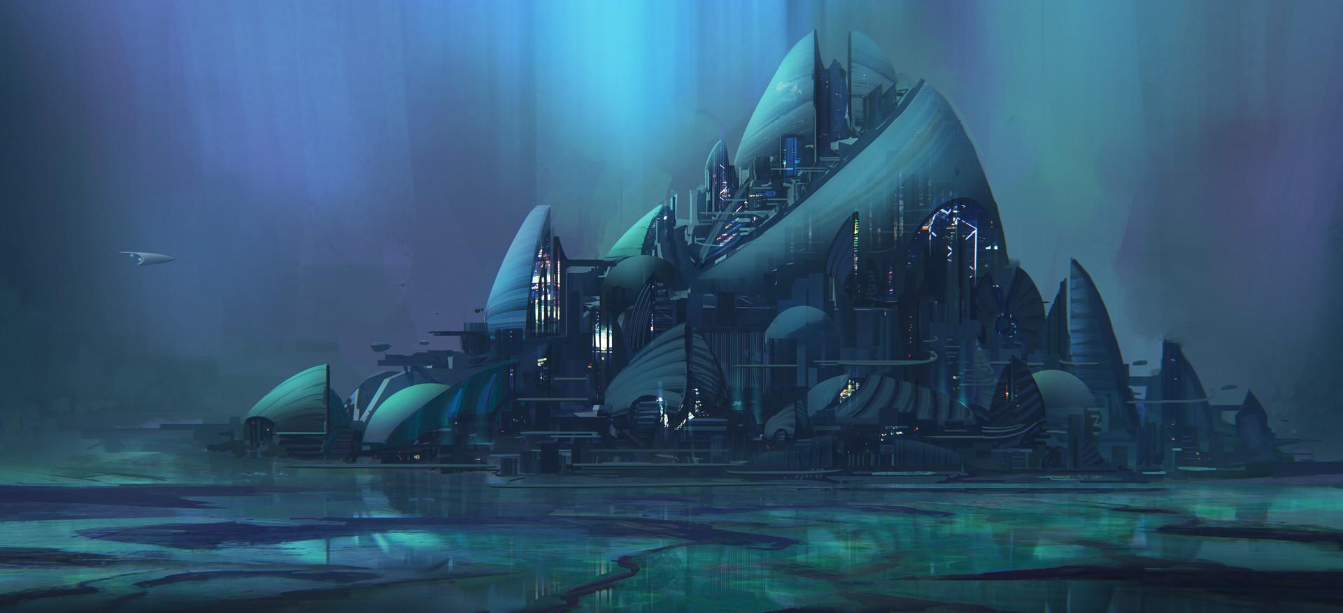 Leon tukker lagoon cityart