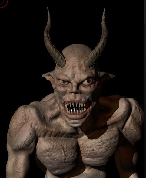 Obum asota demonsculpt wip03