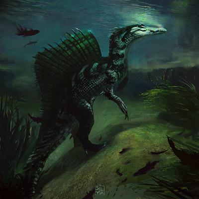Silvia pasqualetto spinosaurus