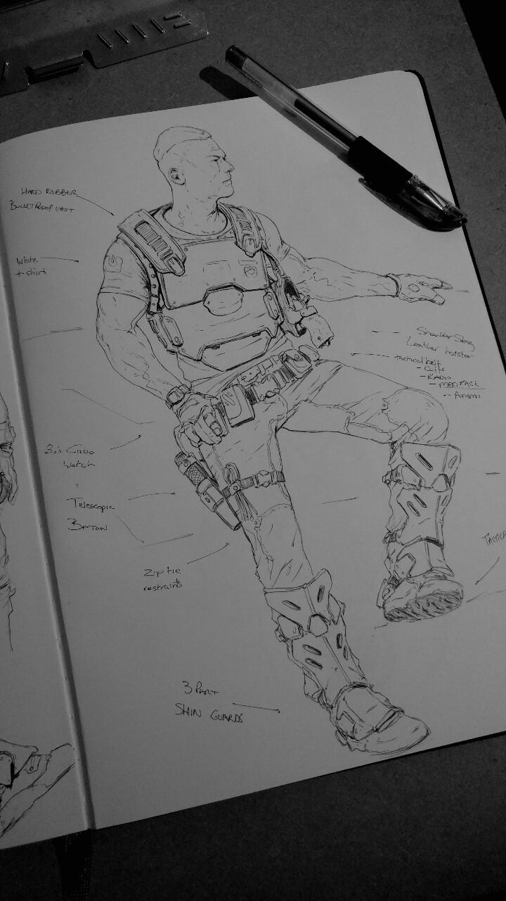 Brad wright danny sketch
