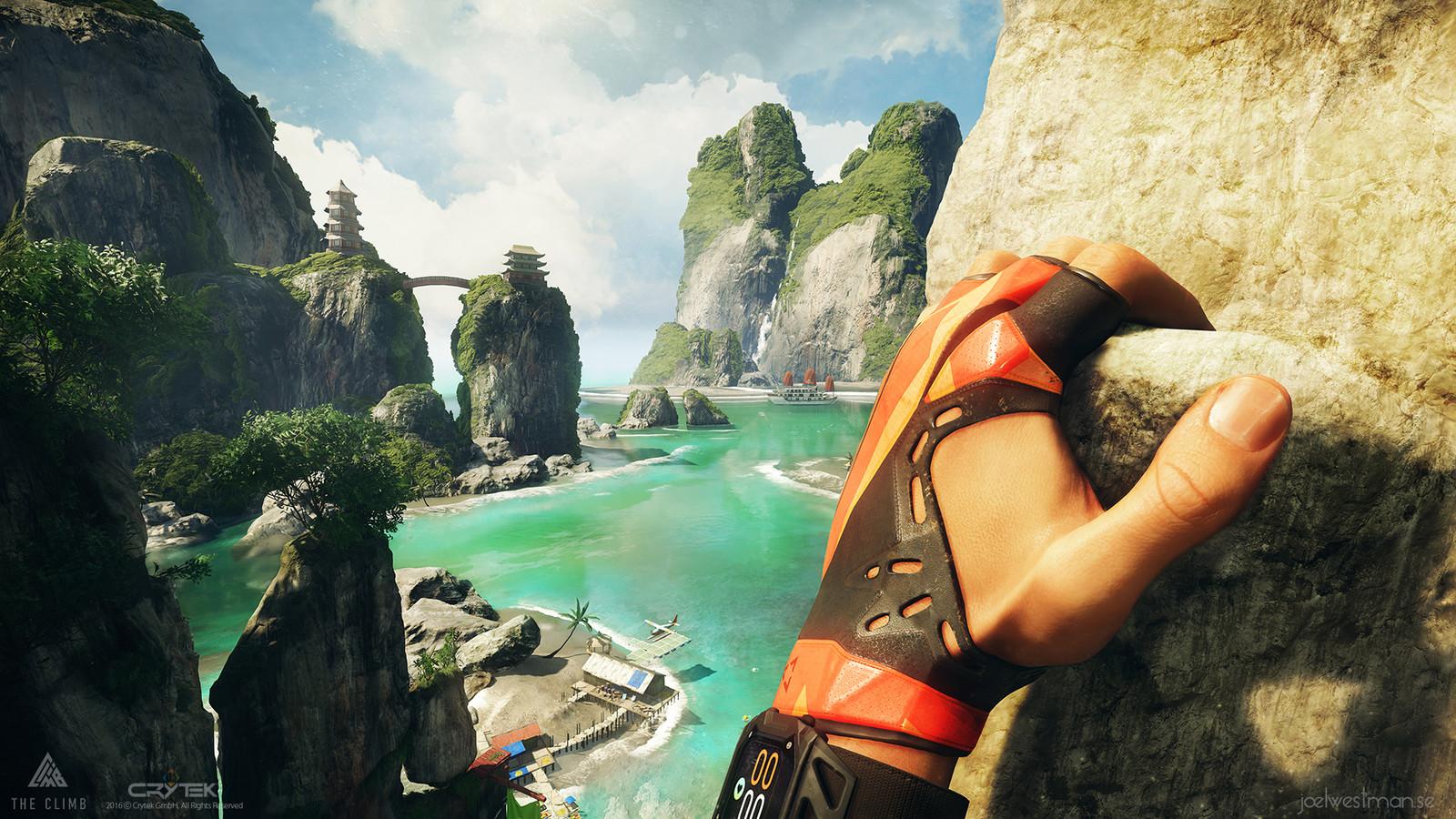 The Climb Announcment Screenshots