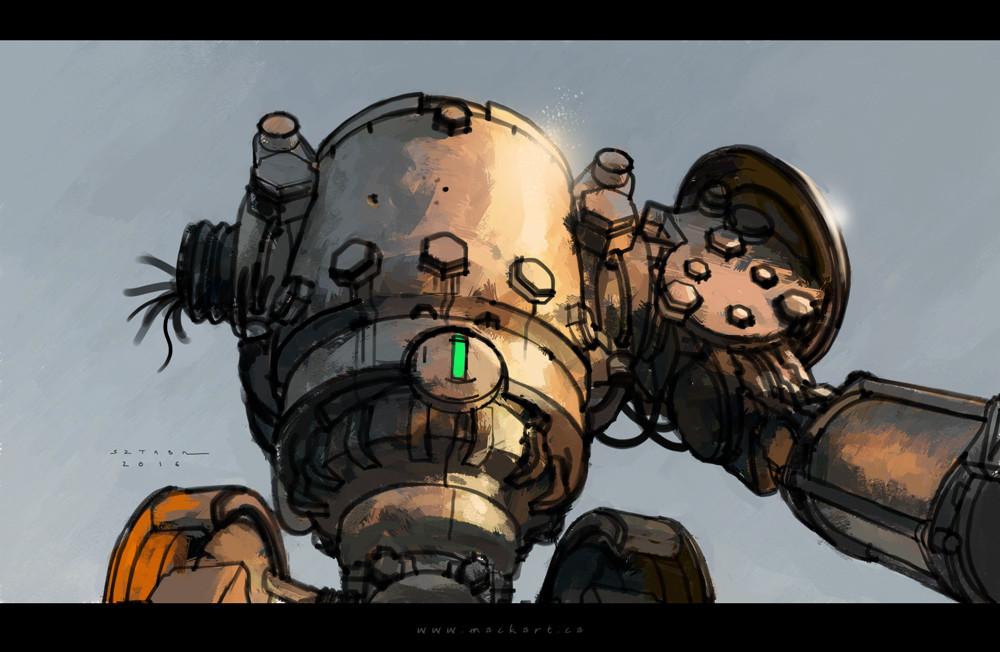 Mack sztaba girder bot sketch