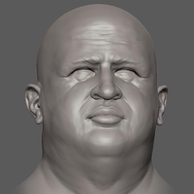 Hugo Chavez - ZBrush sculpt bust