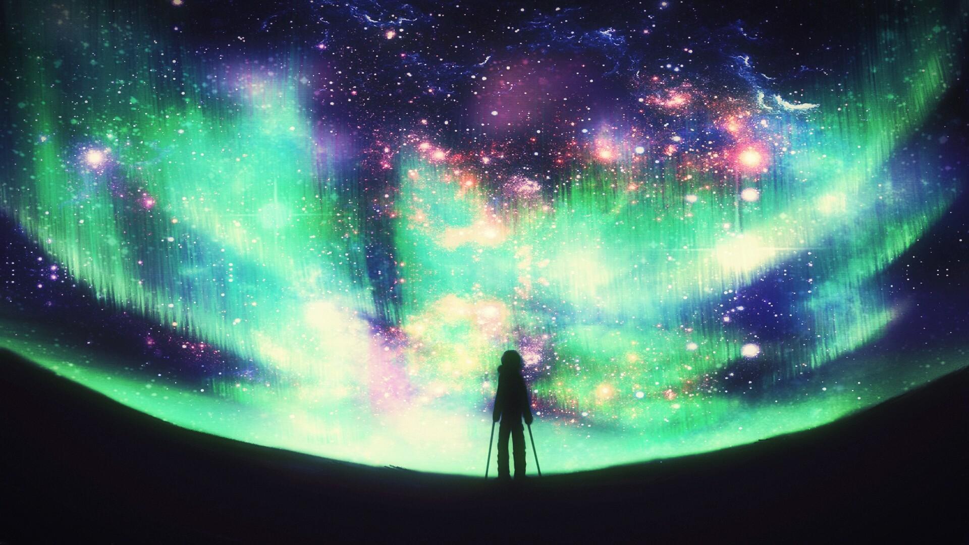 eru trần painting galaxy