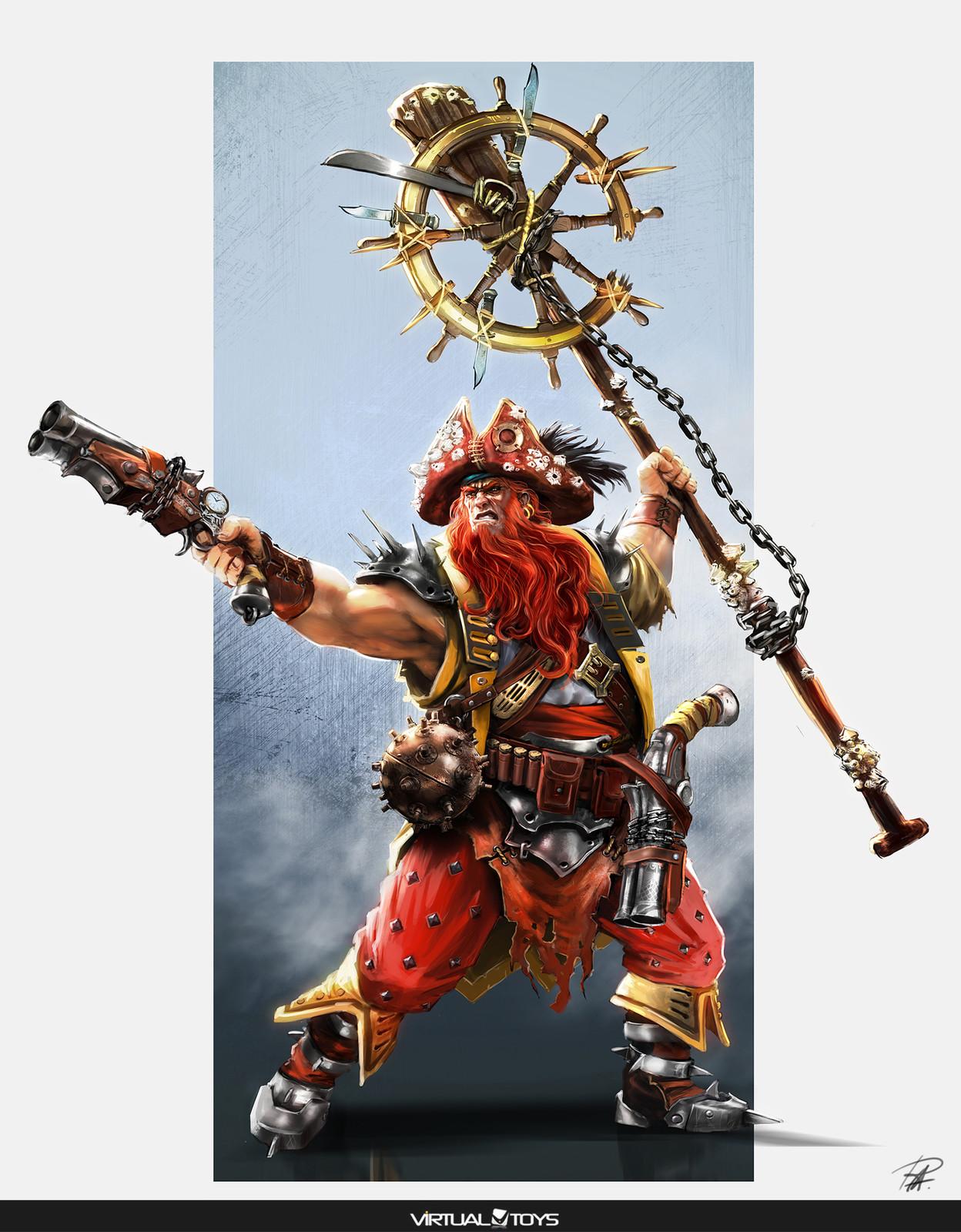 Pirates Trasure Hunters Character designs