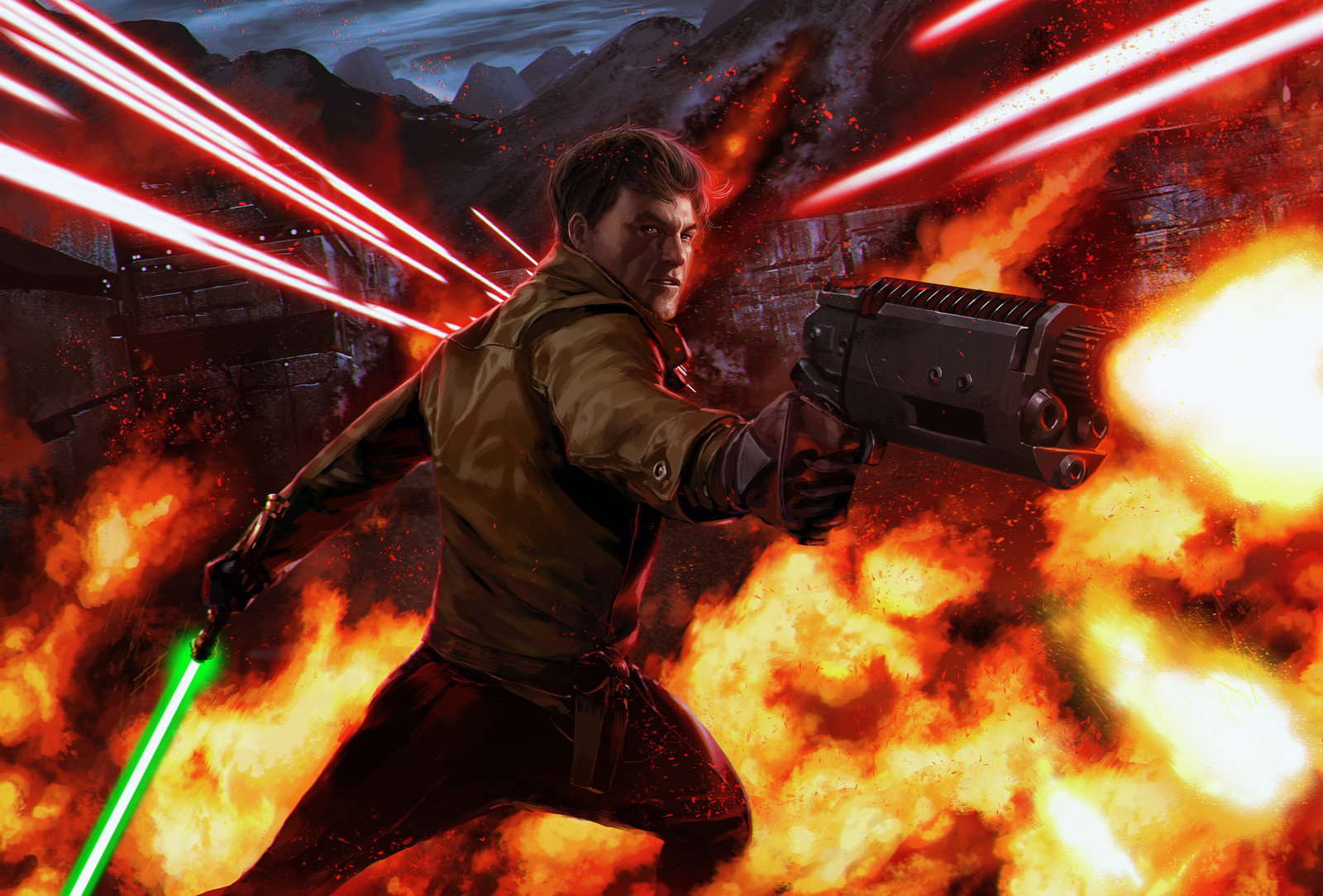 Star Wars Galactic Ambition - Kyle Katarn