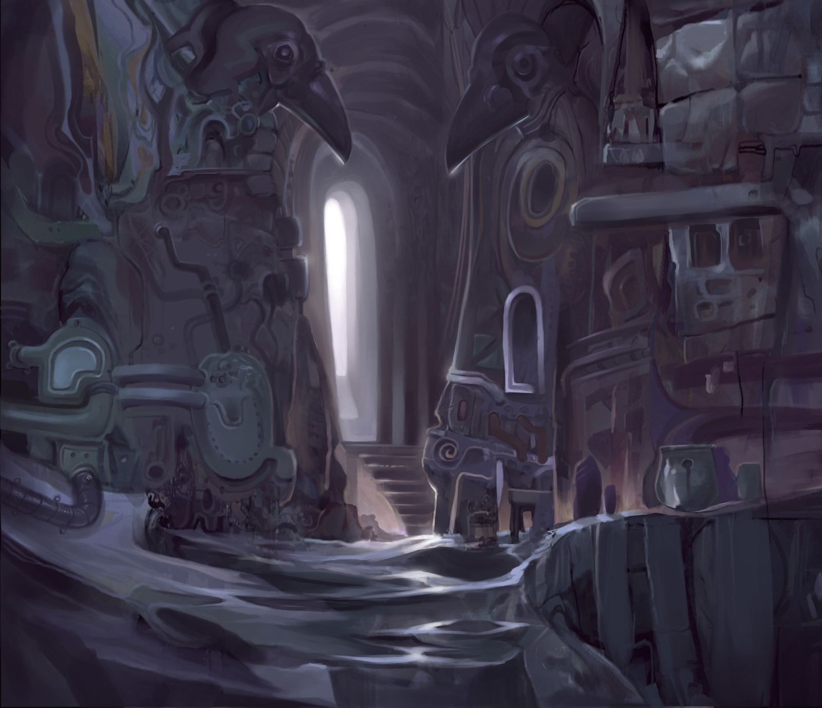 The Purple Tomb