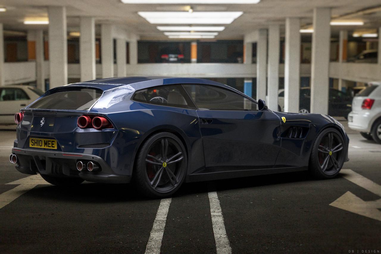 Ferrari GTC4Lusso - Shmee150 Fan art
