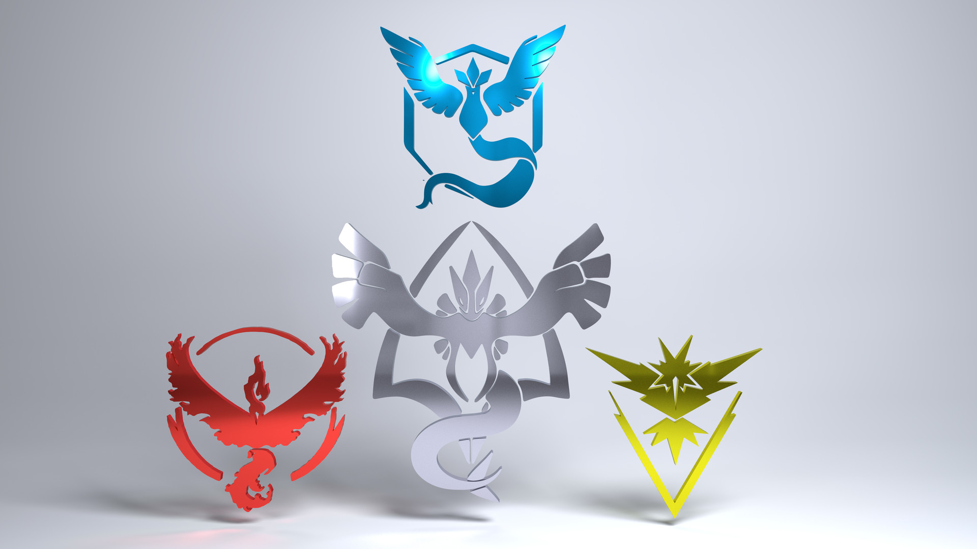 Pokemon Go Team Symbols Images