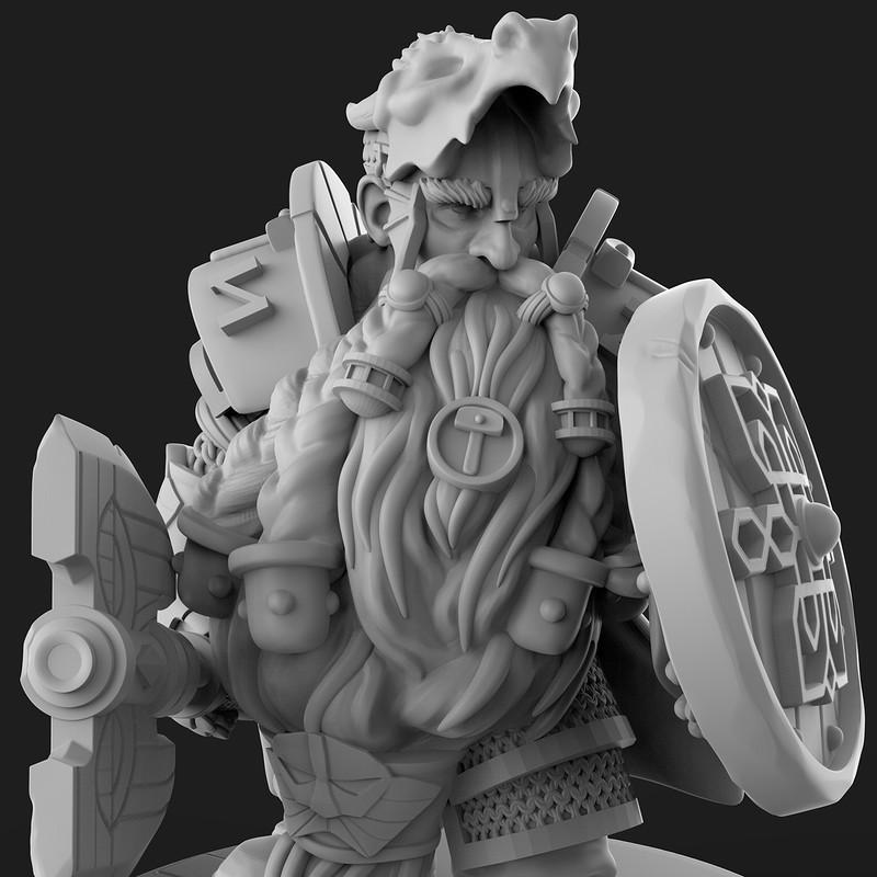 Warhammer Dwarf Mini