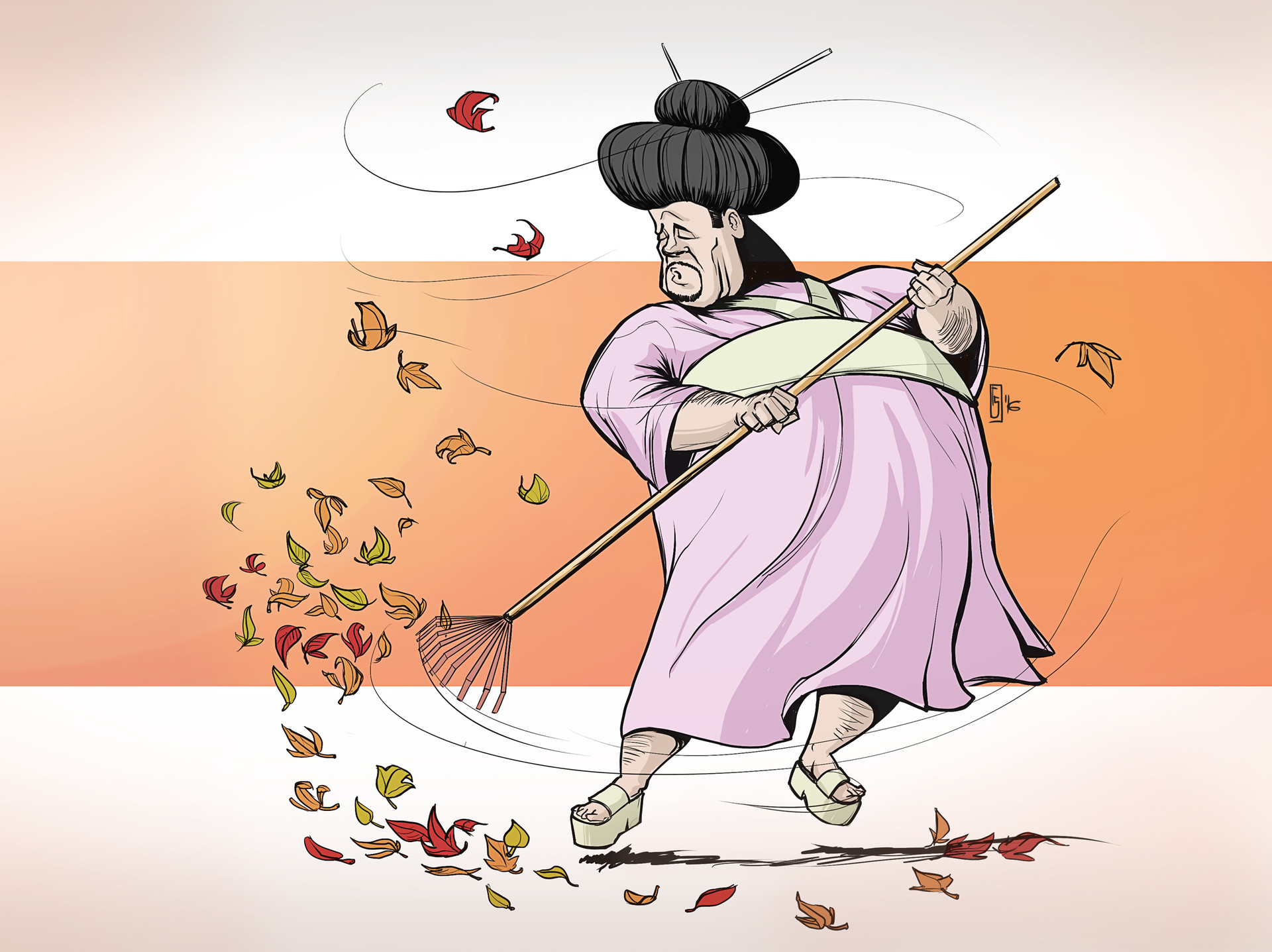 Marsen angler geisha