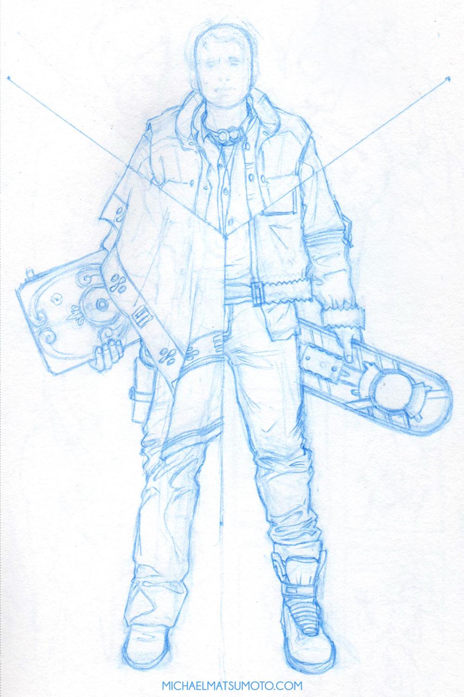 Michael matsumoto w8aminit web full body sketch