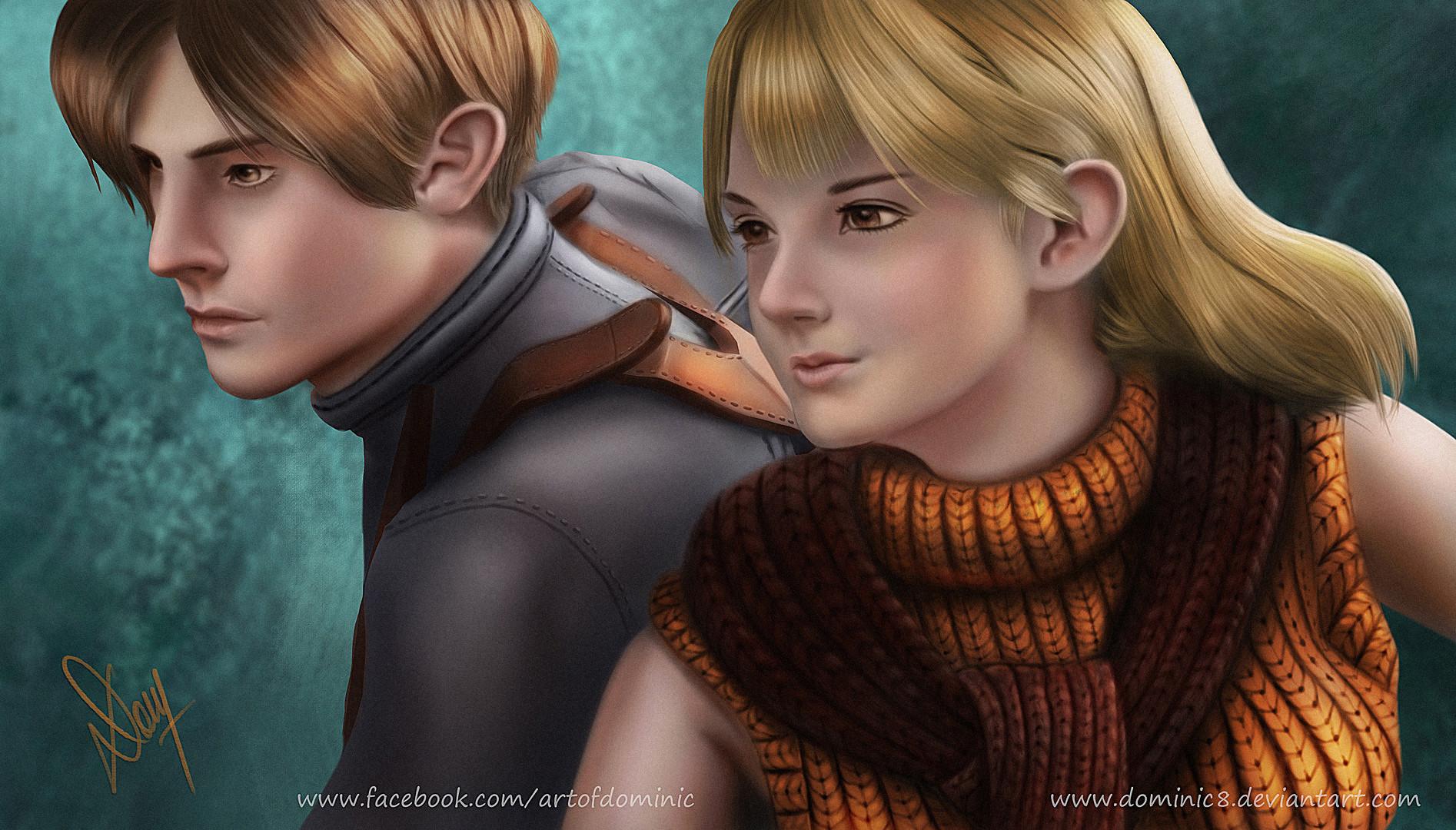 Artstation Leon Ashley From Resident Evil 4 Dominic M