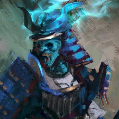 Sebastian horoszko 28 blue samurai