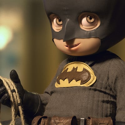 Quentin chaillet batman cute hd