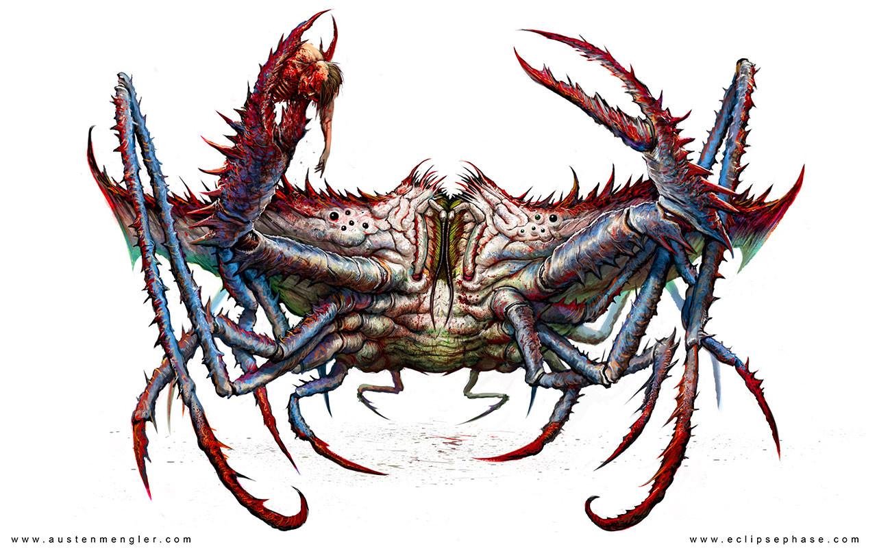 artstation zombie crab austen mengler