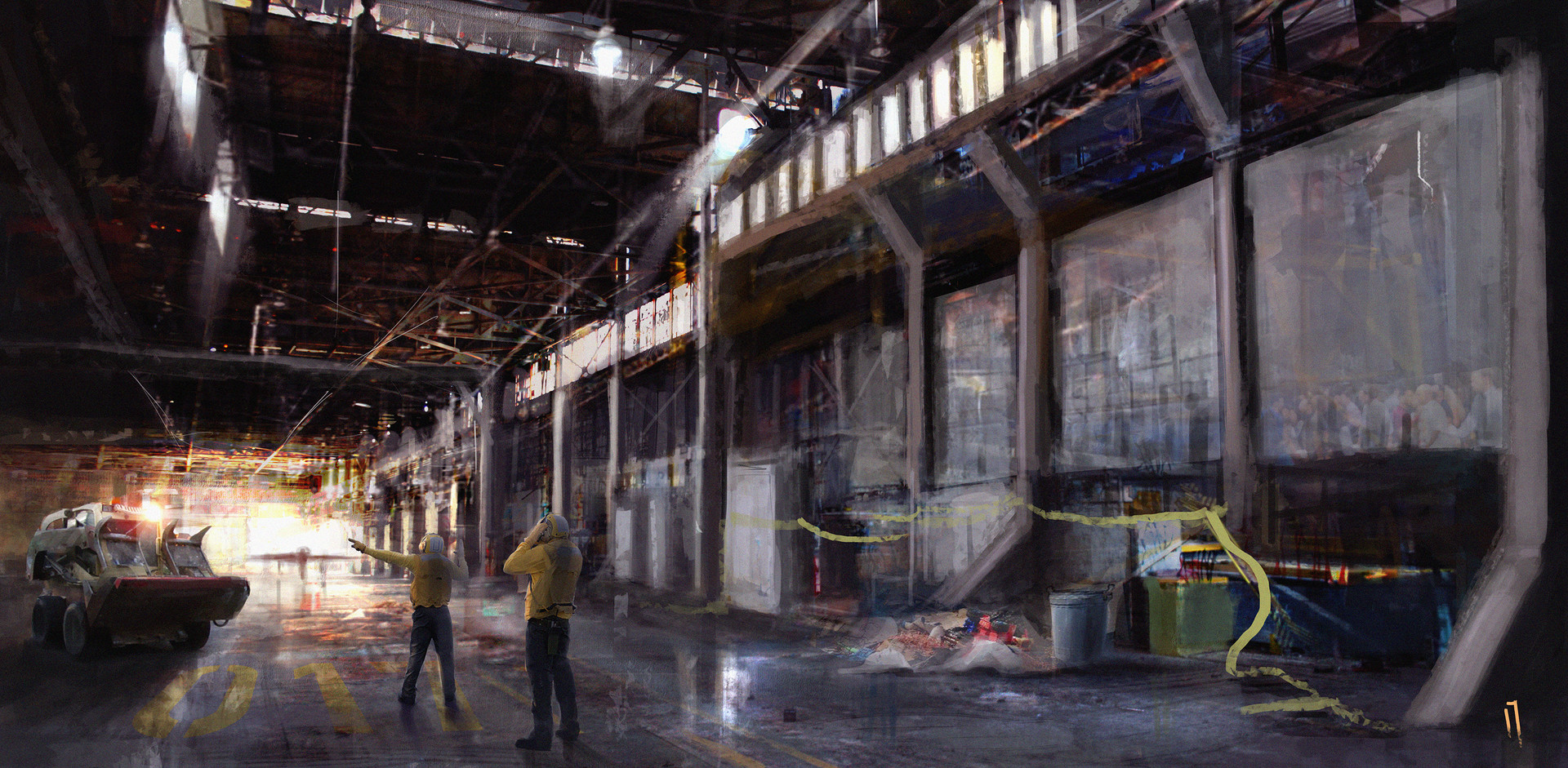 Ismail inceoglu industrial sivo