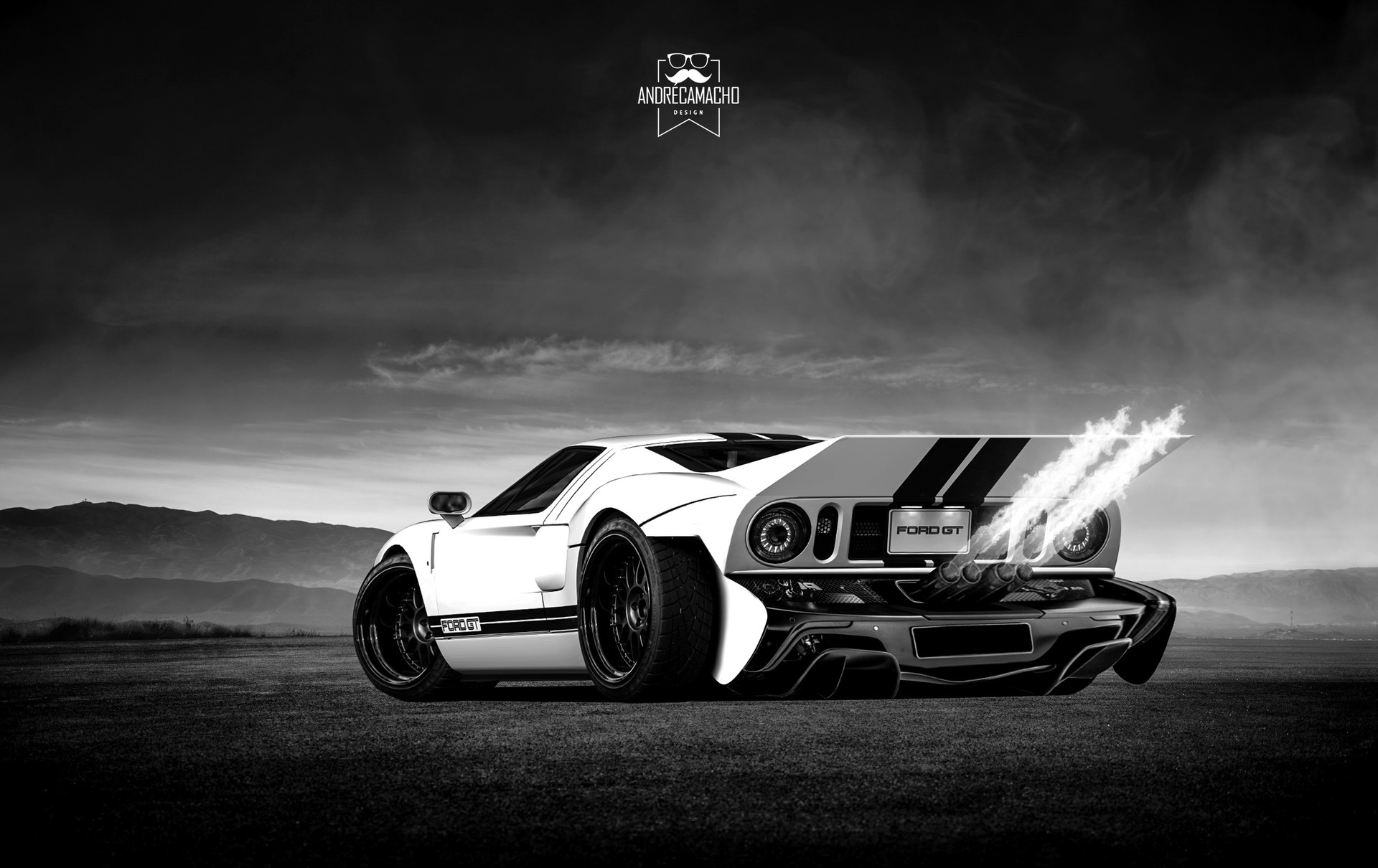 Andre camacho design ford gt 1
