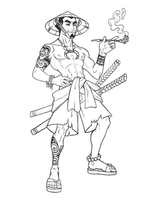 Paulo peres samurai paulo peres wip3
