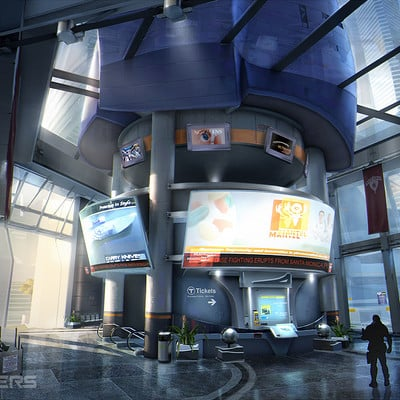 Boss key productions concept art depository pier entrance 2 wm