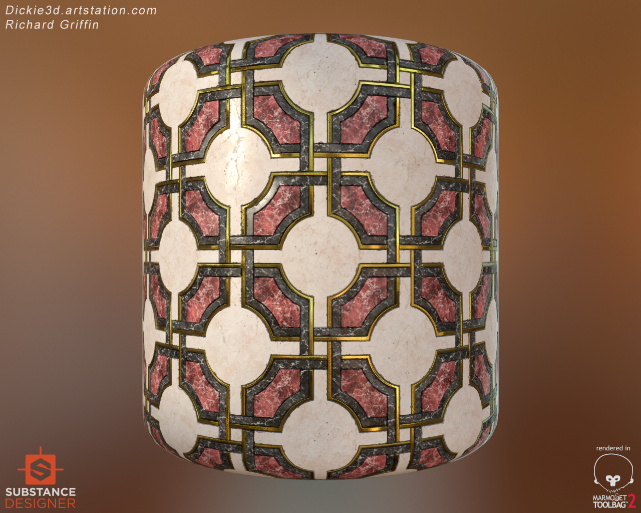 Artstation art deco floor tiles richard griffin scroll to see more dailygadgetfo Images