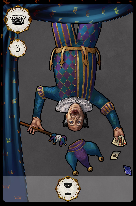 Joanna efenberger jester card