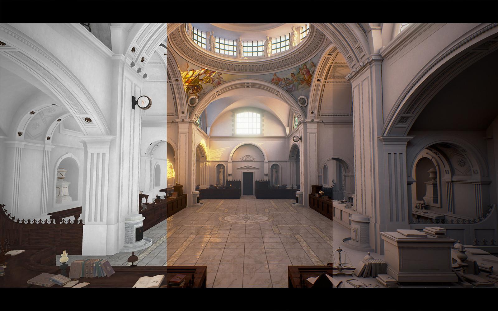 Unreal Engine 4 Breakdown / Entrance